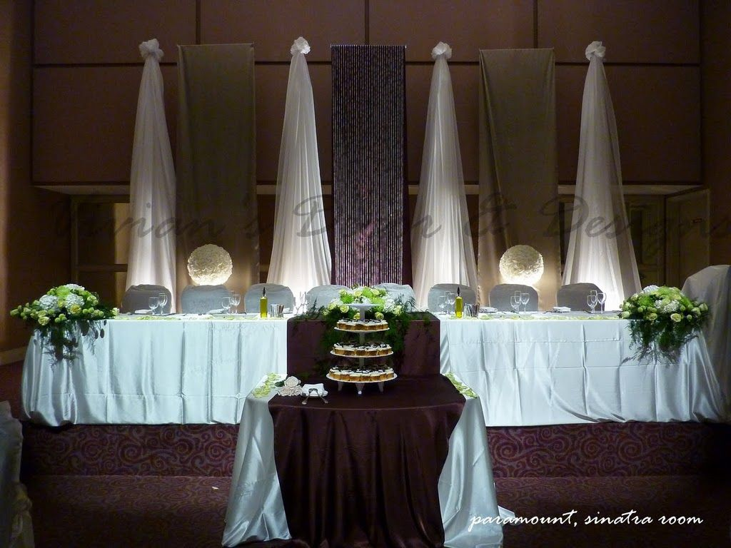 Wedding event background  nice backdrop strung from wire  Wedding Ideas  Pinterest