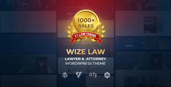 Wizelaw Law Lawyer And Attorney In 2020 Business Wordpress