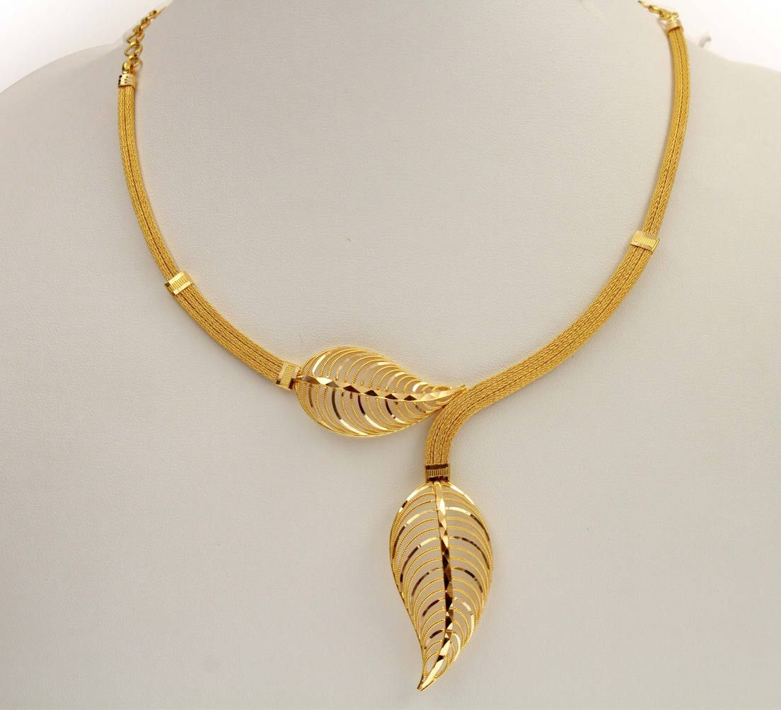 la inr with jos designs simple necklace gold price jewellery creative alukkas