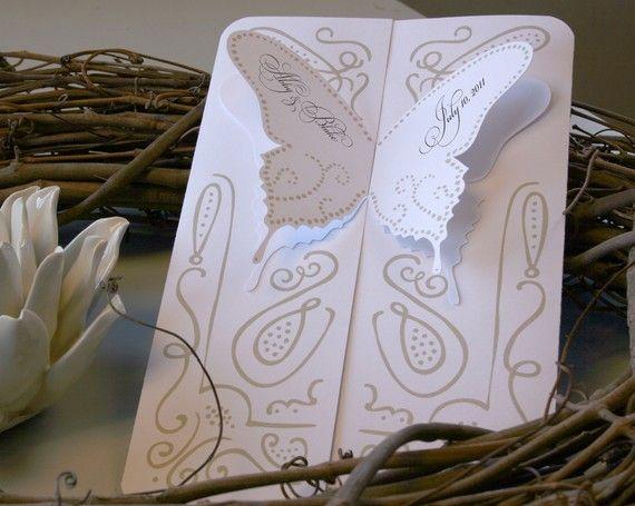 Butterfly Wedding Invitations Etsy Wedding Invitation Kits Butterfly Wedding Invitations Butterfly Wedding