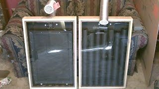 How To A Make Solar Air Heater That Produces 140 Degree Temperature