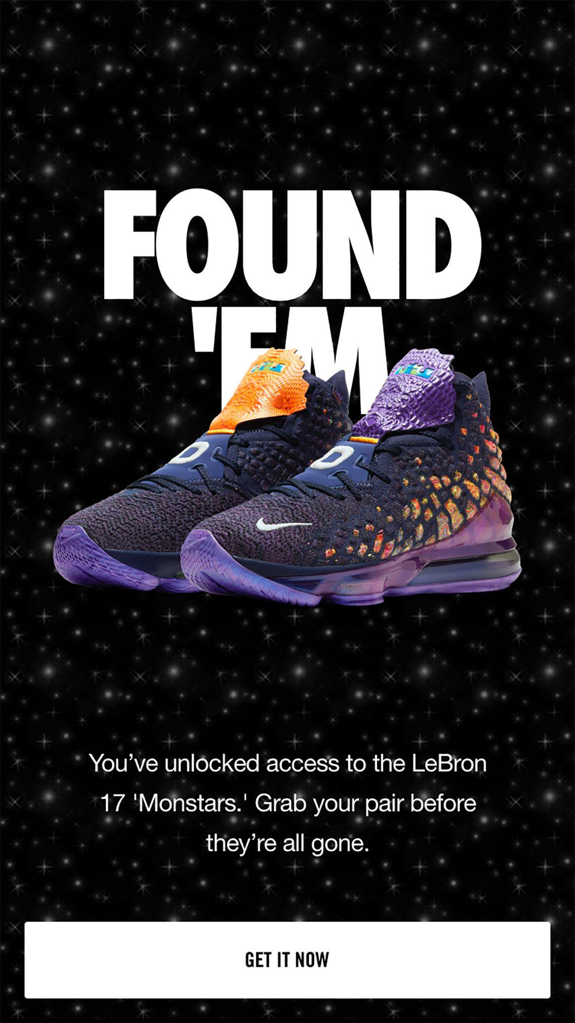 Nike Lebron 17 Monstars Cd5050 400 Release Date Sneakernews Com In 2020 Lebron 17 Nike Lebron Nike