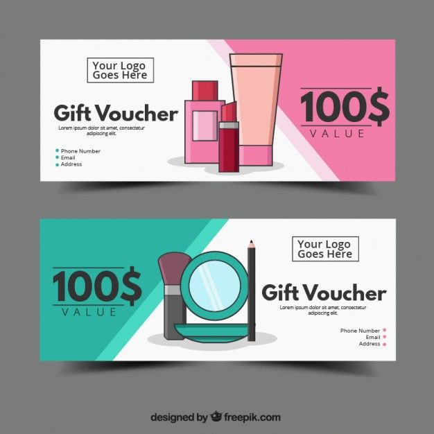 Discount beauty banners Free Vector