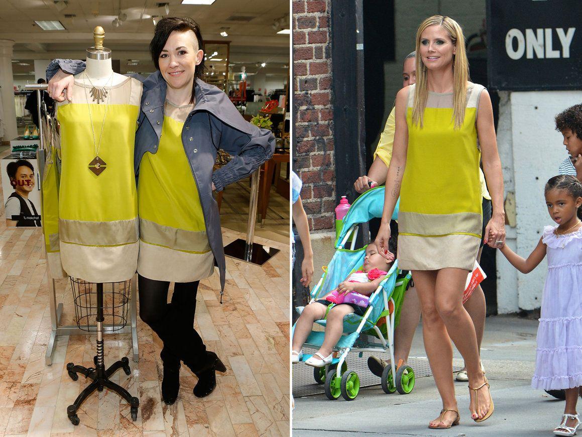 7a0115332782 Heidi Klum Rocks 'Project Runway' Designs - Michelle Lesniak Franklin:  Season 11 winner