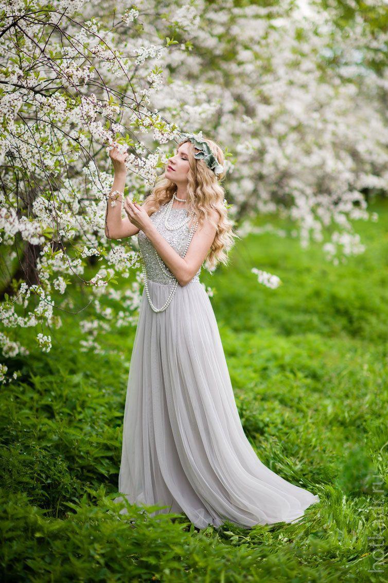 фотосессия в цветущем саду москва жизнь