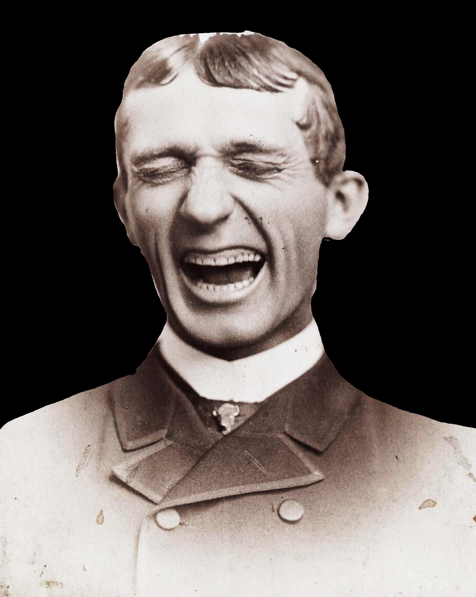 Vintage Laughing Man Vintage Pictures Historical Figures Digital Collage