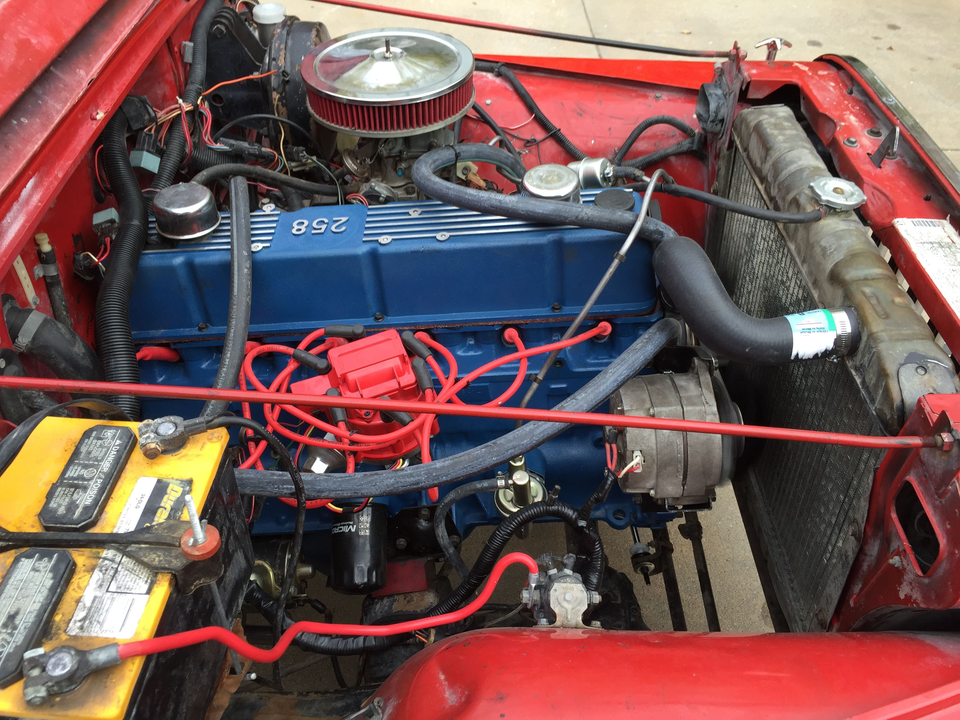 Complete Remanufacture Of Original 258 Engine Jeep Cj7 Jeep Cj7