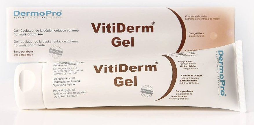 VitiDerm® Gel topique | Vitiligo, Dépigmentation, Traitement