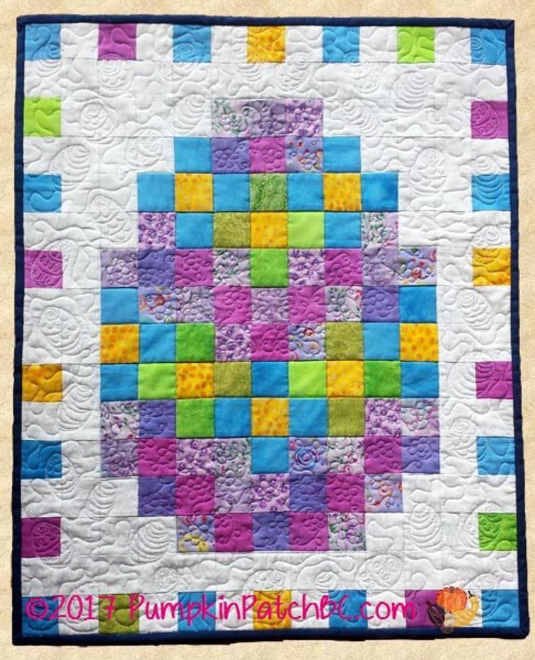 Free Quilt Pattern: April Easter Egg   Free Quilt Patterns   Pinterest