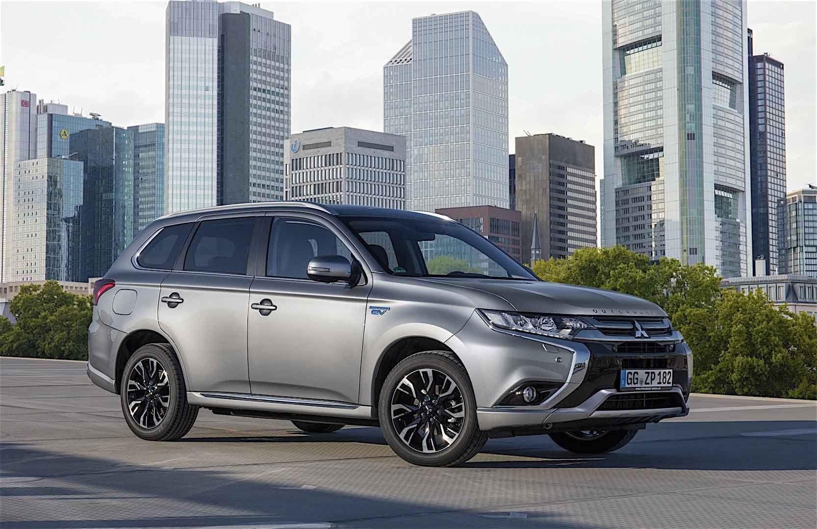 Mitshubishi Plug In Hybrid Suv Canada Mitsubishi Outlander Phev Images