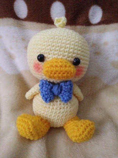 Bebê Pato | Amigurumi | Pinterest | Bebé y Tejido