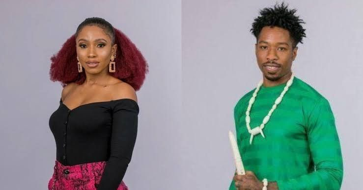 The Love Between Big Brother Naija Housemates Ike And Mercy Seems To Be Growing By The Day As The Former Has Just Opened Big Brother Ike Big Brother Housemates
