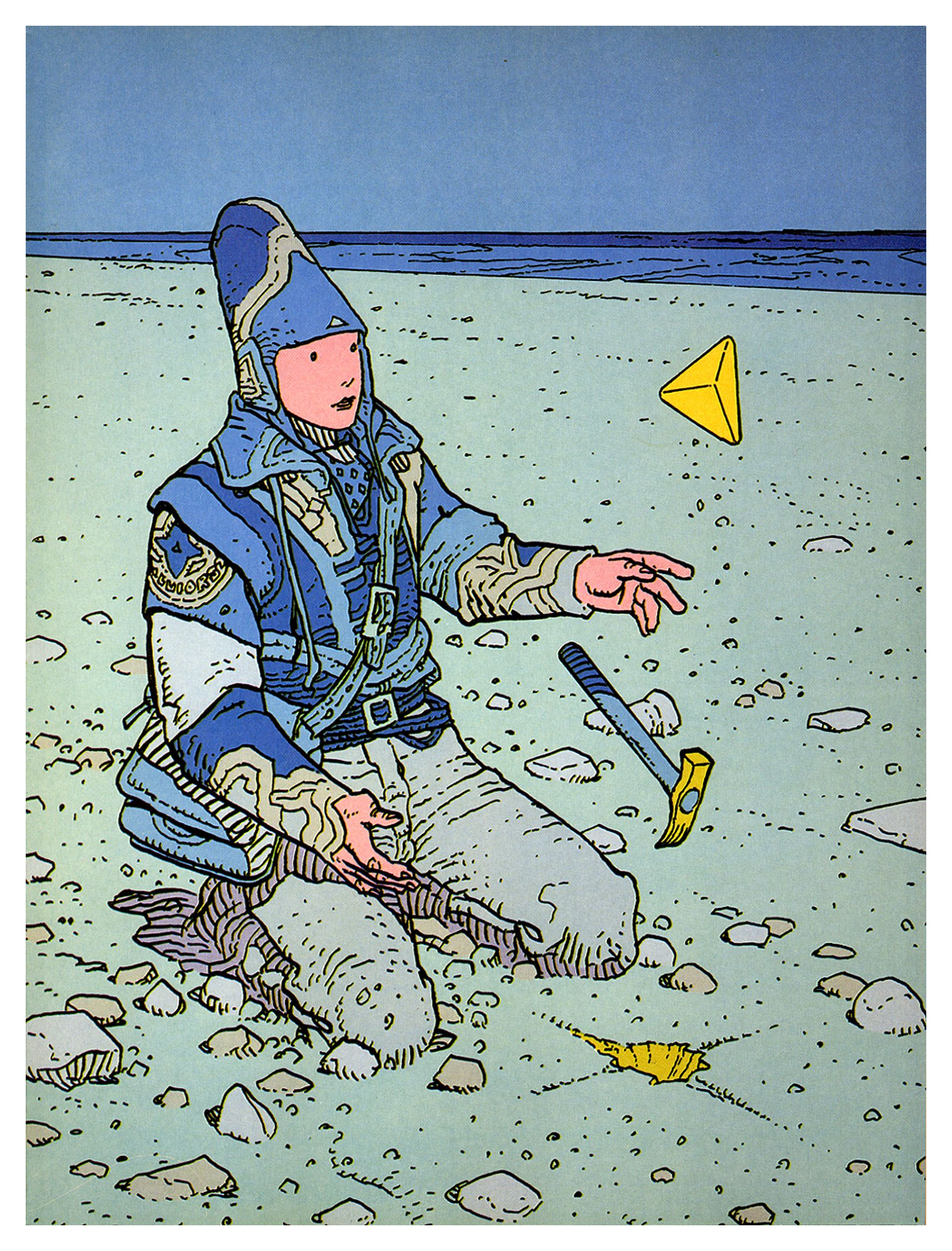 The Great Jean Giraud.  My Favourite graphic Artist. I have only just discovered that he pass away in march.  glumness. A legendary inspiration for so many film makers and artists.