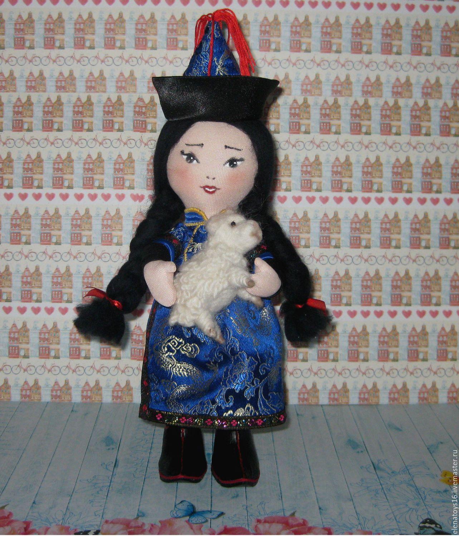 Купить Интерьерная текстильная кукла Сэсэг в бурятском ...