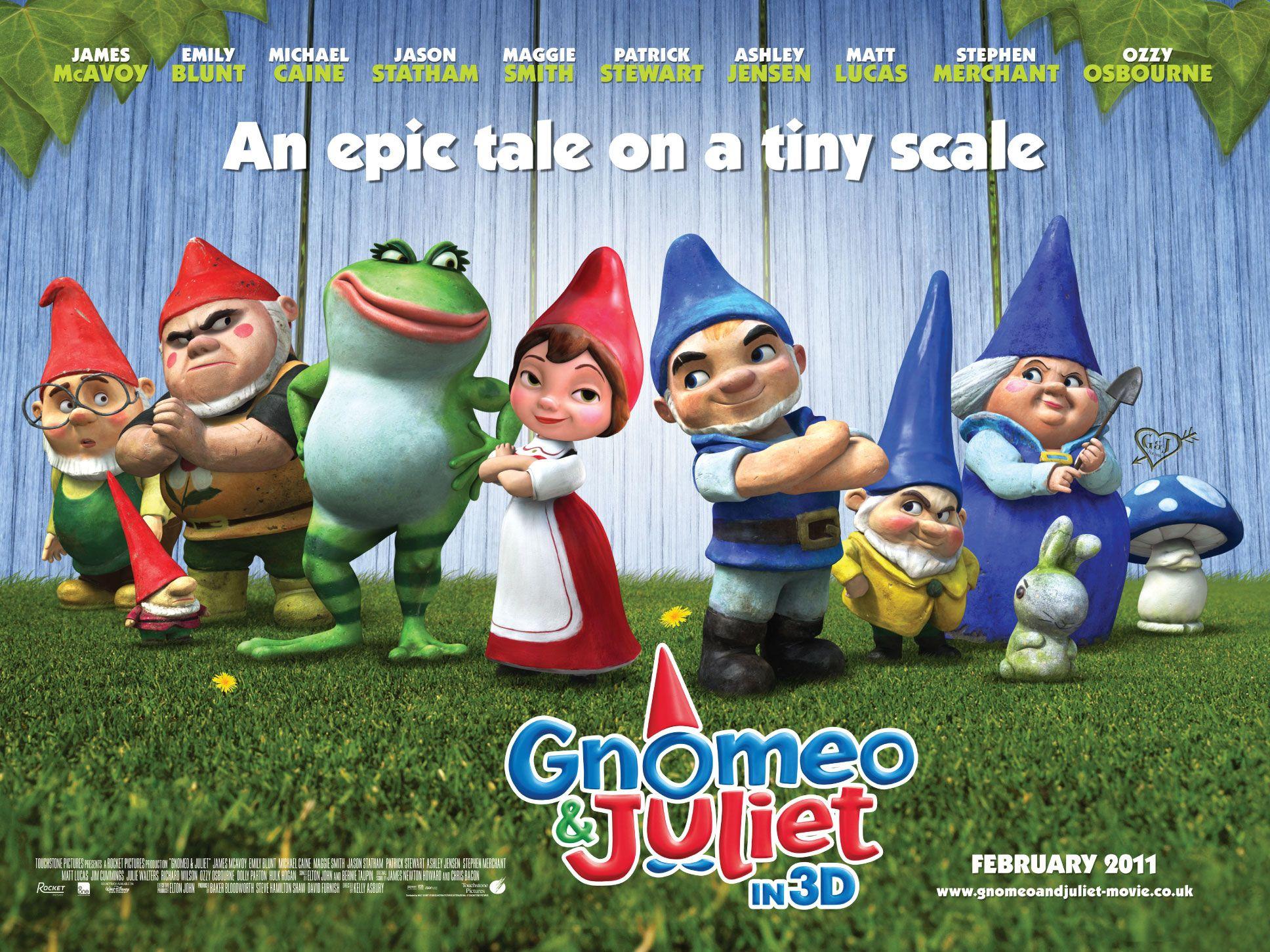 Gnomeo and juliet movie poster bing images juliet movie