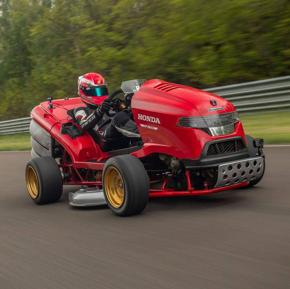 Honda Mean Mower V2 Is World's Fastest, Does 0-60 Mph In