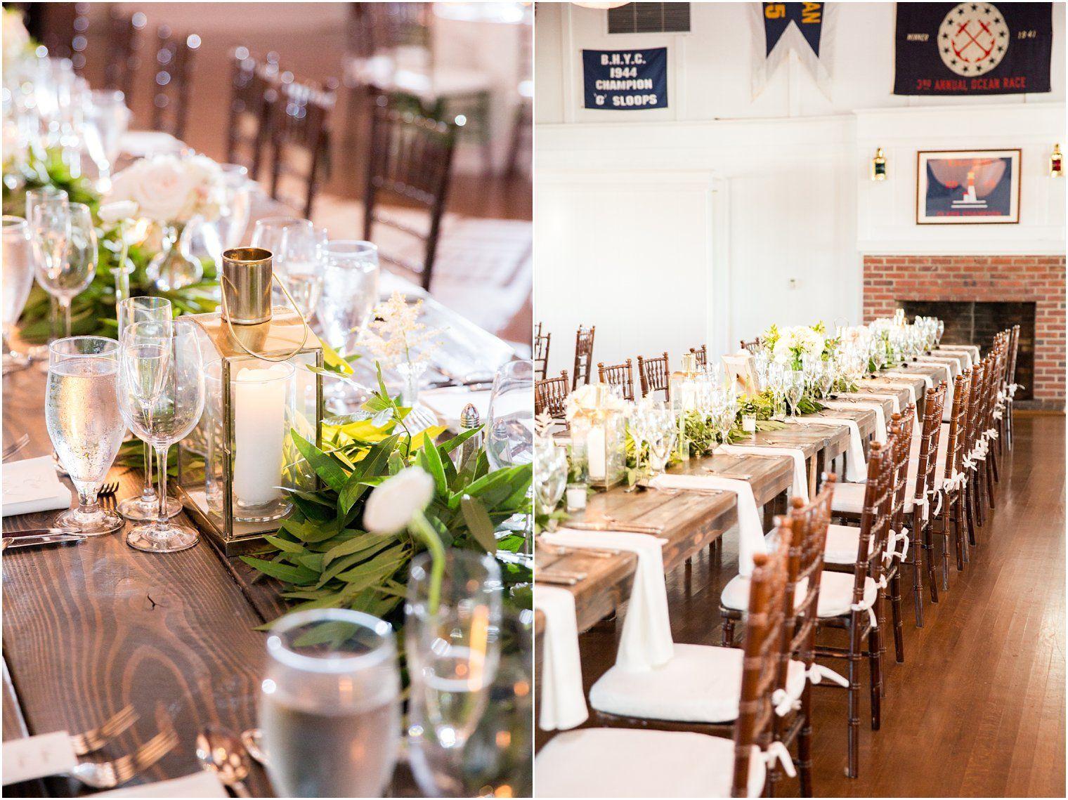Bay Head Yacht Club Wedding | Cheap wedding decorations, Wedding ...