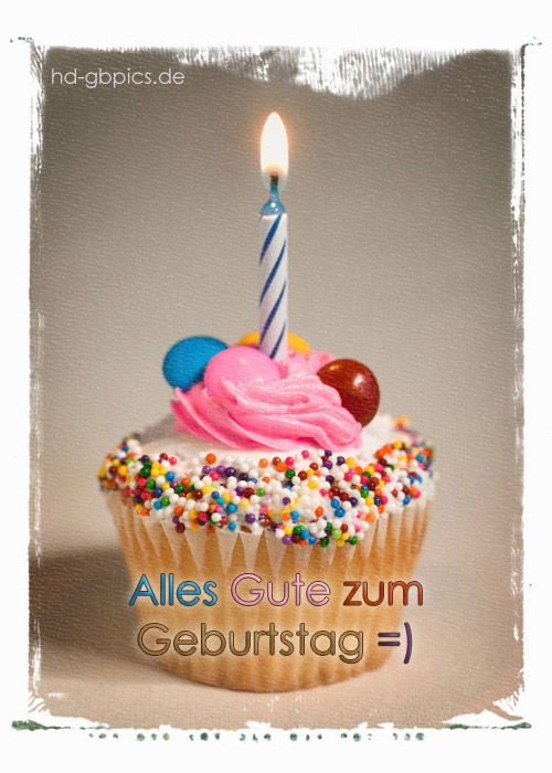 Geburtstag Bild Geburtstag Birthday Cupcakes Birthday Und Cupcakes