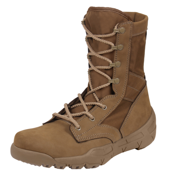 V Max Lightweight Tactical Boot 8 5 Ar 670 1 Coyote Brown Brown Military Boots Tactical Boots Military Boots