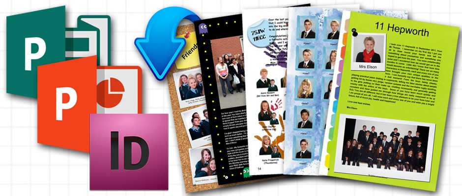 Publisher Powerpoint Indesign Yearbook Templates Professionally