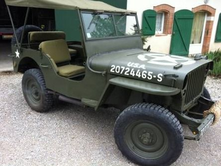 Jeep Willys 1942 Restauree Jeep Willys Auto Occasion Jeep