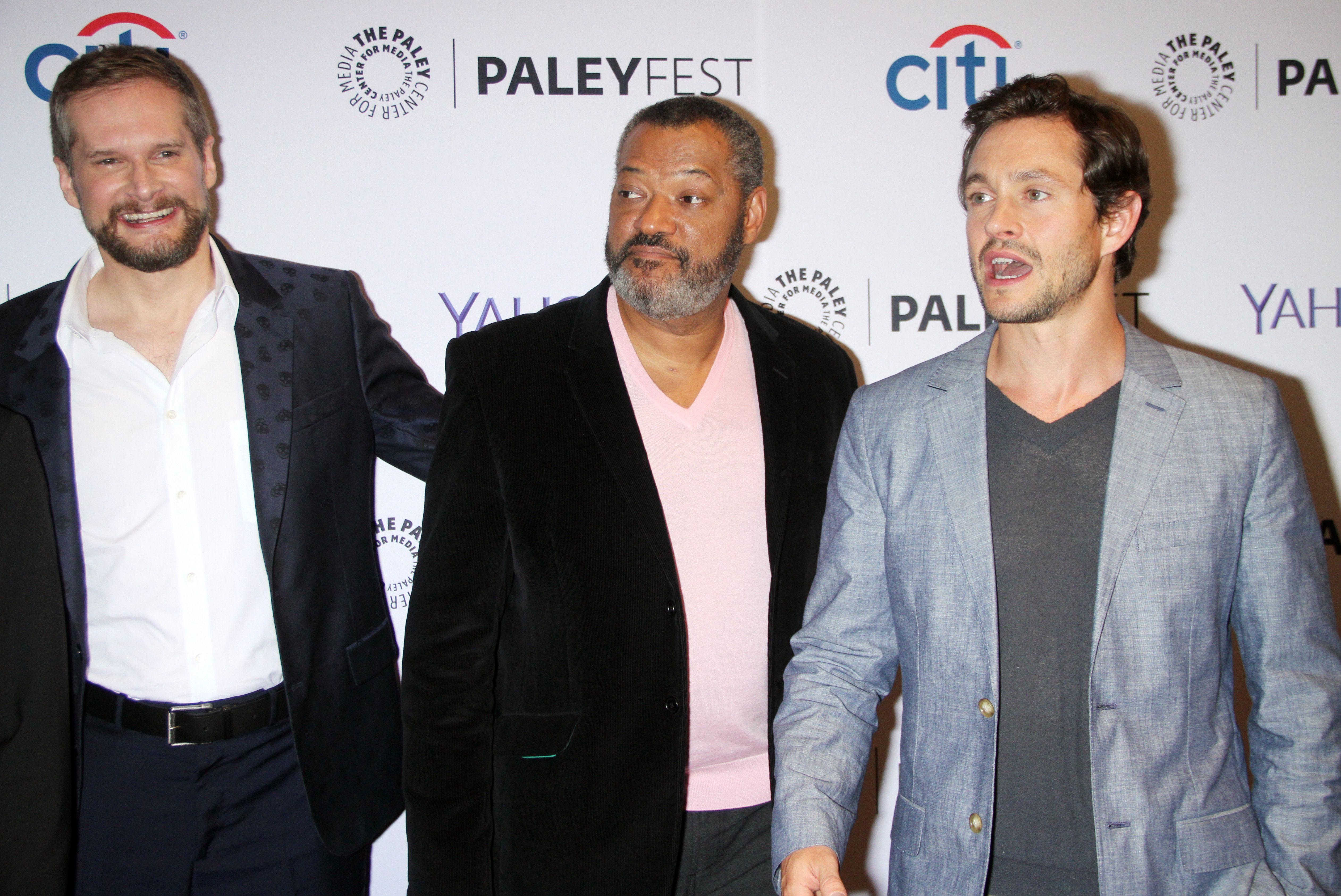 Hugh Dancy, Bryan Fuller, Paleyfest New York Presents: 'Hannibal' - 2014 (high quality)