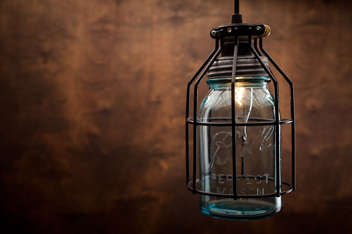 ball jar lighting. The Ball Perfect Mason Jar Pendant Is A Beautiful Mix Of Both Early Americana And Industrial Styles With Its Authentic Lamp Cage. Lighting