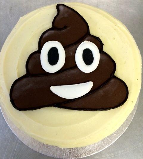 Emoji Poop Cake Tin