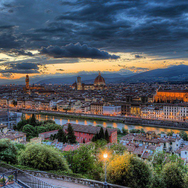 The Ultimate Dating Bucket List  Sip Italian Wine at Piazzale Michelangelo in Florence, Italy
