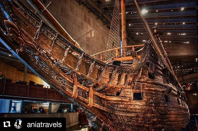 Thnx @aniatravels for visiting The Vasa Museum and this picture that we have the pleasure to #repost #vasamuseet #thevasamuseum