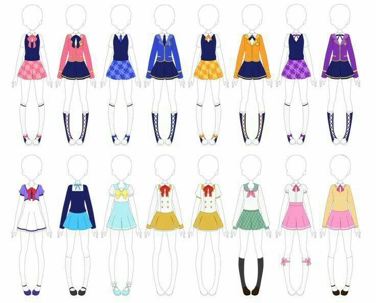 Uniforms Drawing References Fashion Design Sketches Fashion