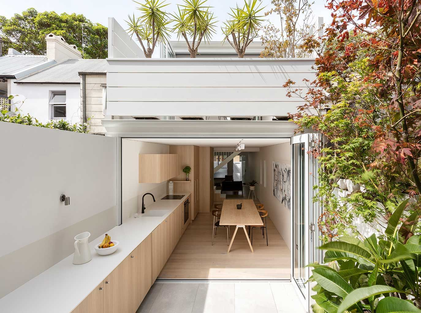 Surry hills house house open plan and architecture
