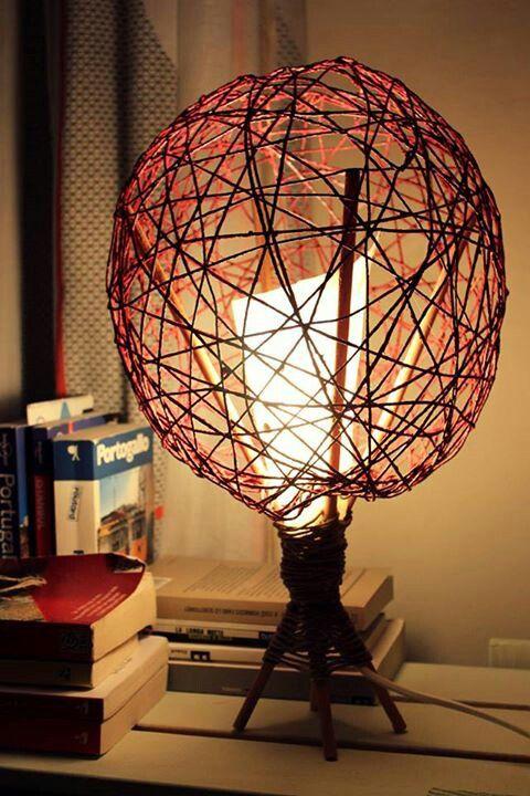 #handmade #lamps #light #diy #ideacondita #faidate #bricolage #recicle #riuso #ecodesign
