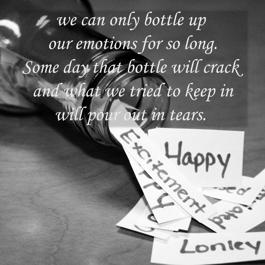 I keep emotions and feelings 23