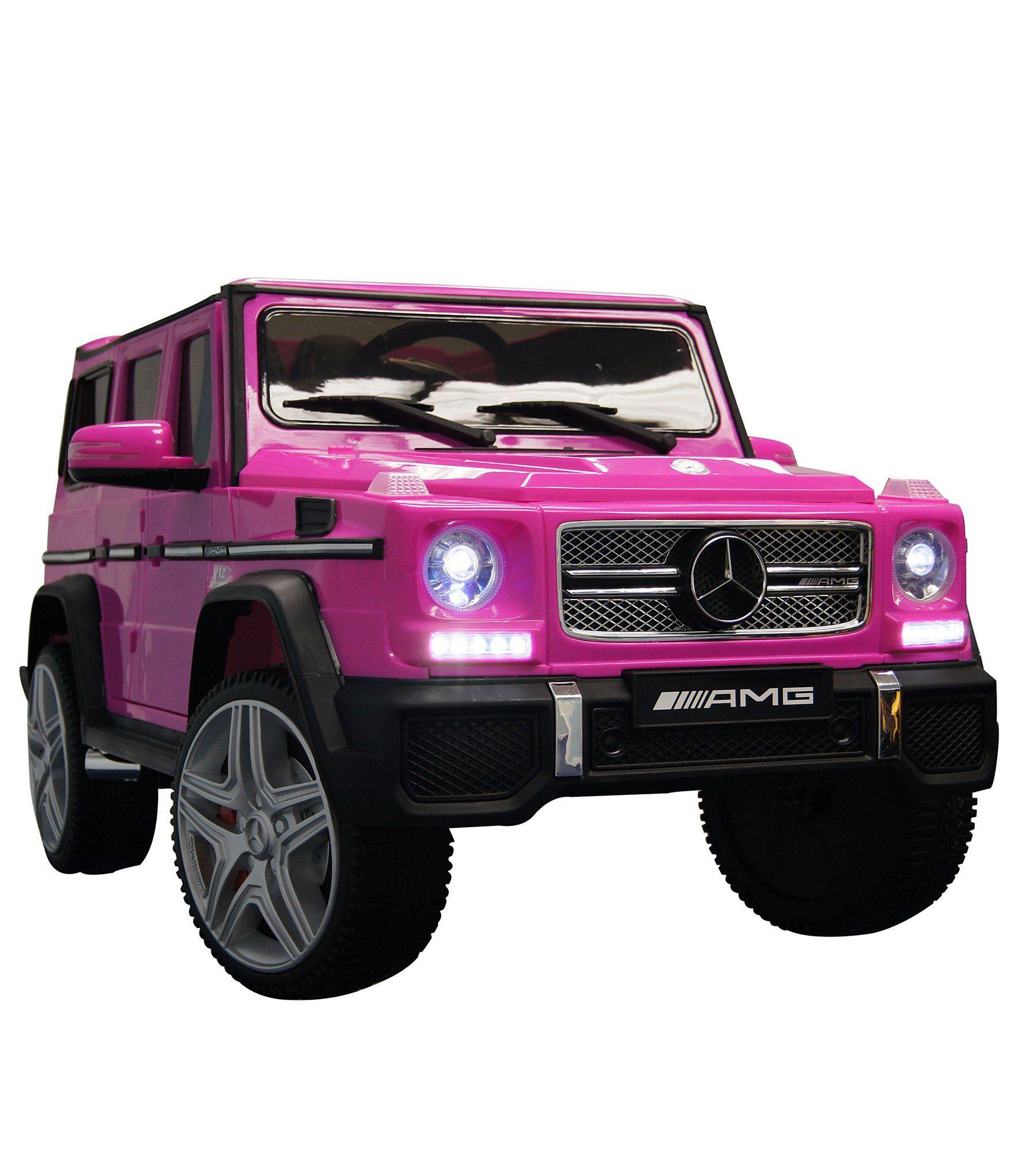 Best Ride On Cars Mercedes G65 12v Ride 045 On Car Pink In 2020 Toy Cars For Kids Kids Ride On Ride On Toys