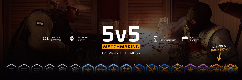 Cs go 128 tick server matchmaking
