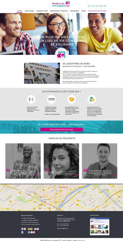 Webdesign - Hypoquets FJT on Behance