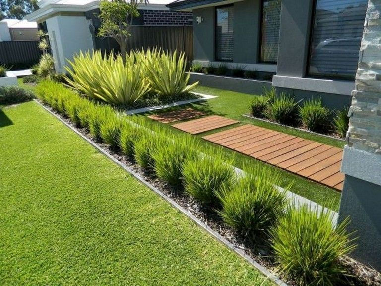 43 Amazing Front Yard Landscaping Ideas On A Budget Large Yard Landscaping Modern Landscaping Yard Landscaping