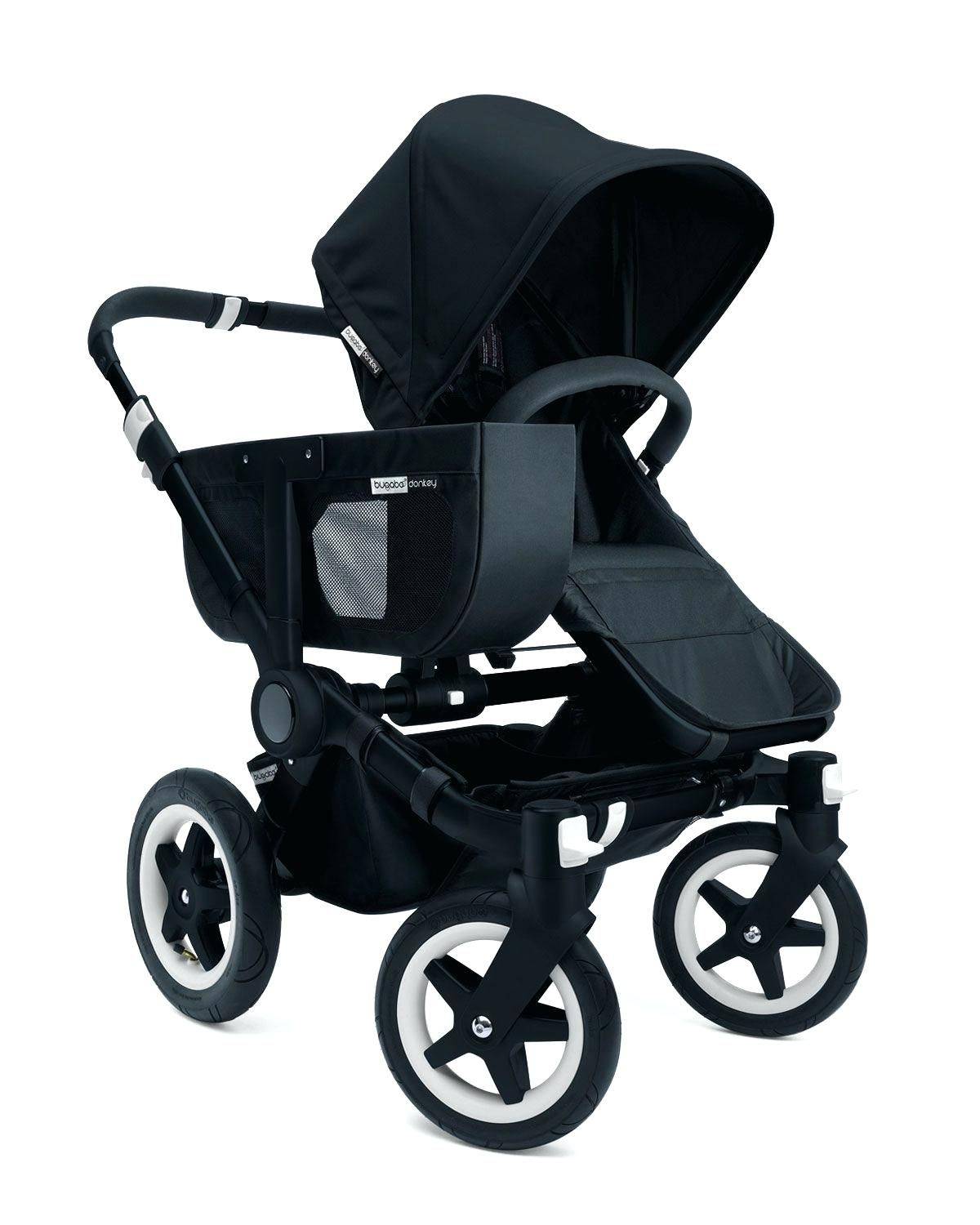 Kinderwagen Stokke Rot Italiener Kinderwagen Donkey Duo Erweiterung Set All Black