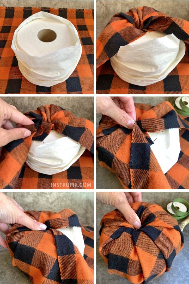 Toilet Paper Pumpkins (Cheap & Easy Fall Decor!)