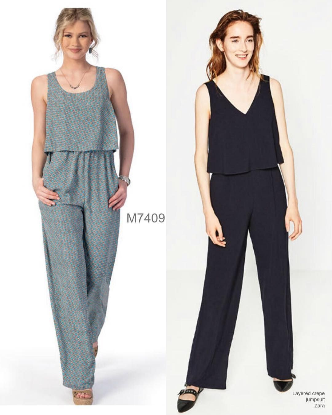 Yes to the jumpsuit that looks like two pieces buthellip pattens