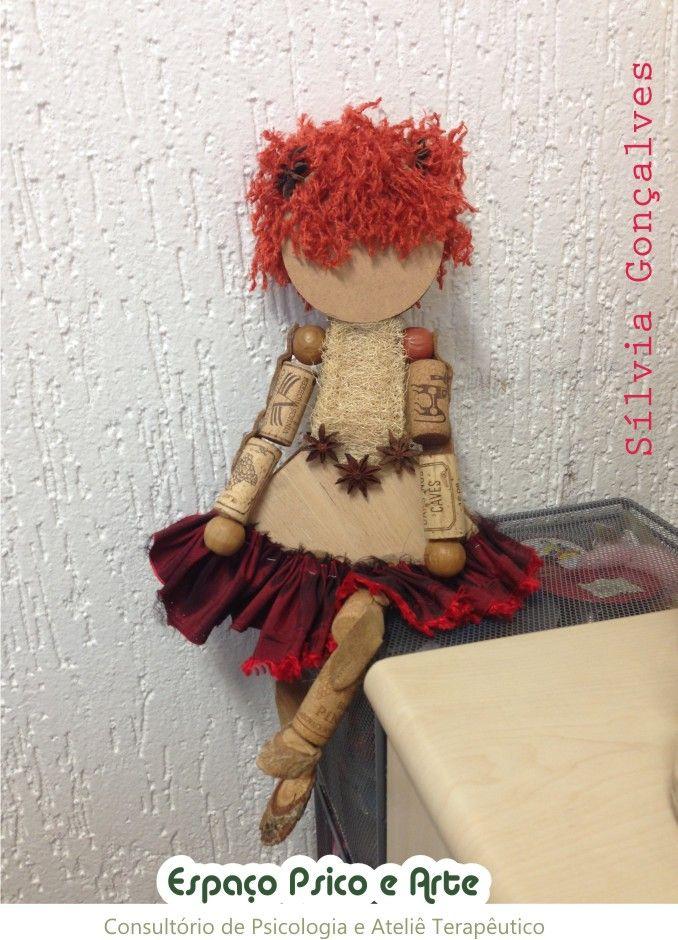 Boneca Sapeca