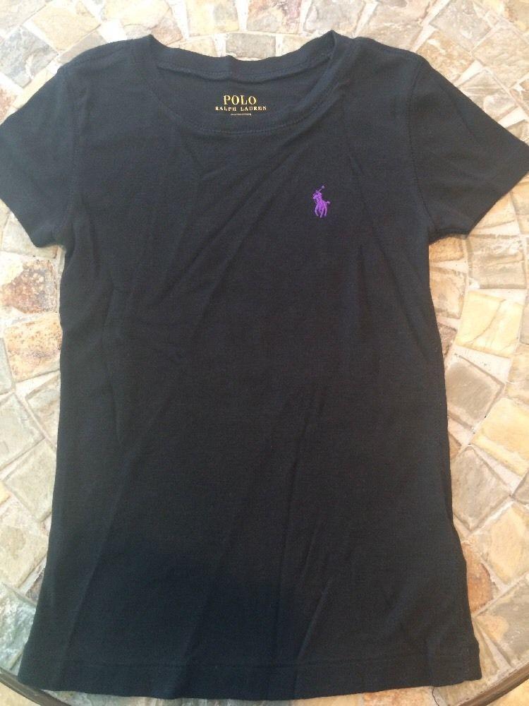 ... 96ac7 540ac Cute Boys Girls Polo Ralph Lauren Shirt Size 7 Black store  ... a70ce99d52