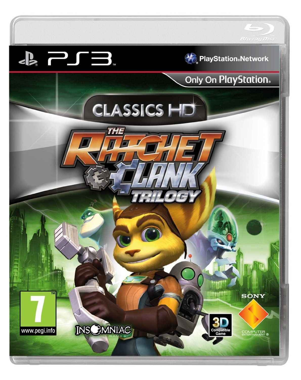 The Ratchet & Clank Trilogy: Classics HD (PS3): Ps3: Amazon
