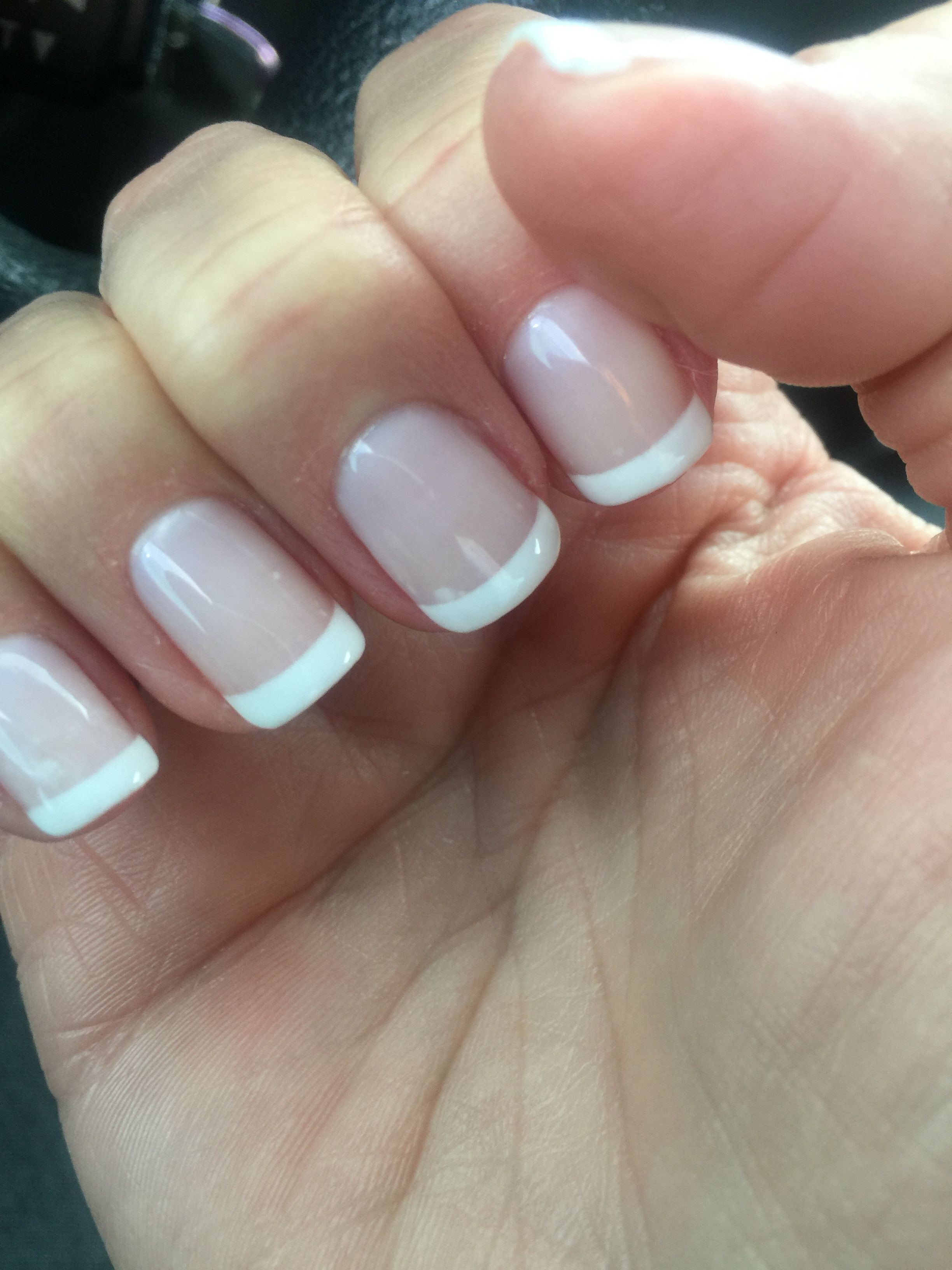 No Chip French Manicure Manicure French Manicure Designs No Chip Manicure