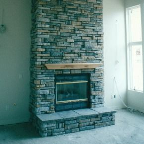 Fireplace Residential Remodel Construction Remodeling Exterior