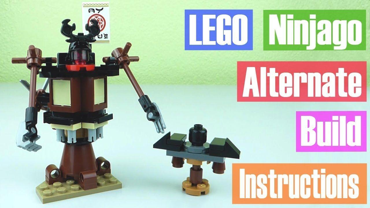 Lego Ninjago Movie Spinjitzu Training Alternate Build Instructions
