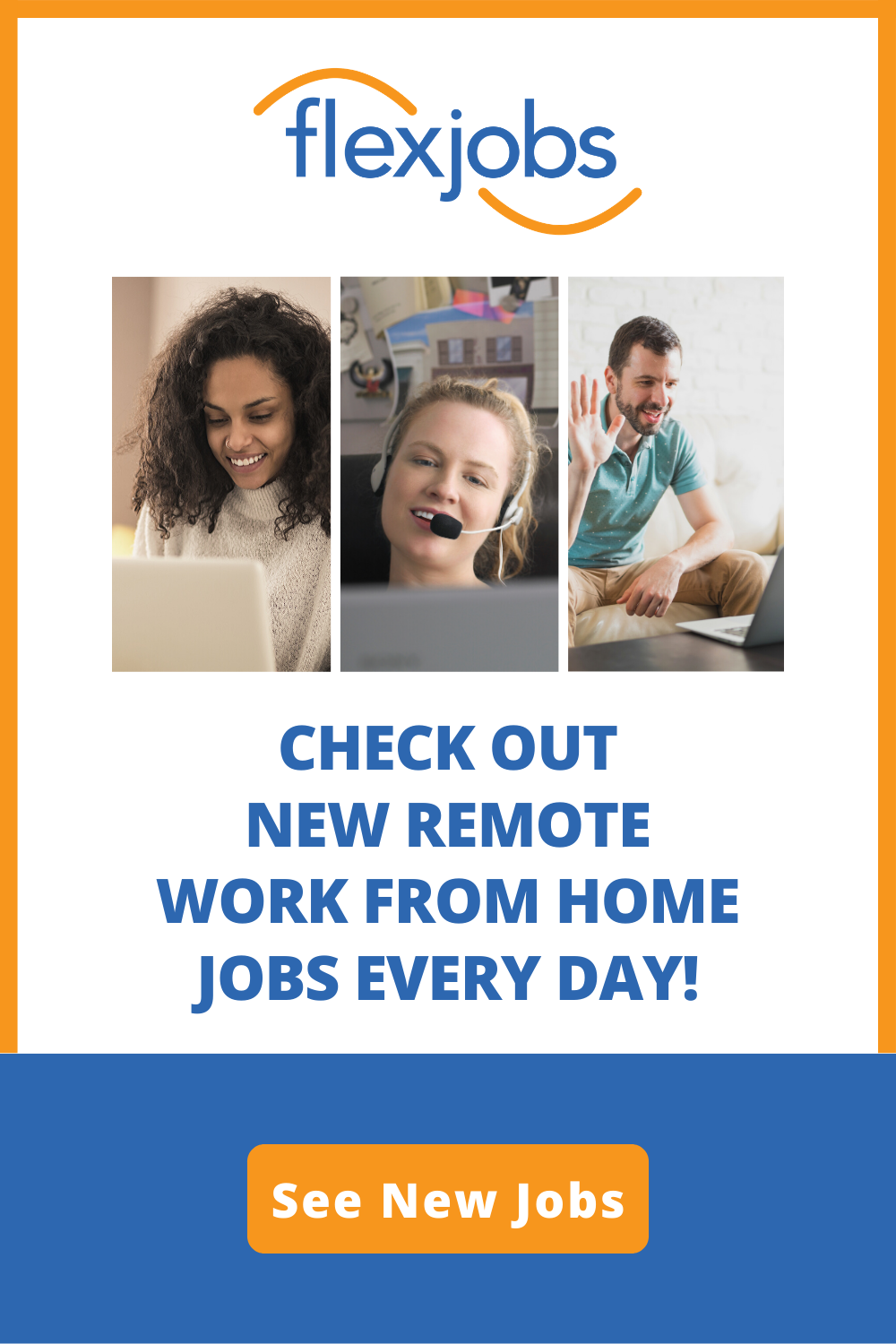 Pin On Find Legitimate Work From Home Jobs With Flexjobs