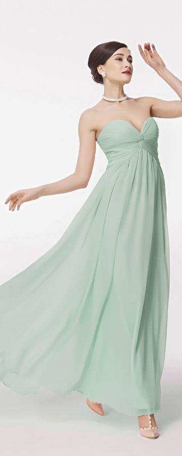 Pastel Green Formal Dresses Empire Waist | grünes Abendkleid ...
