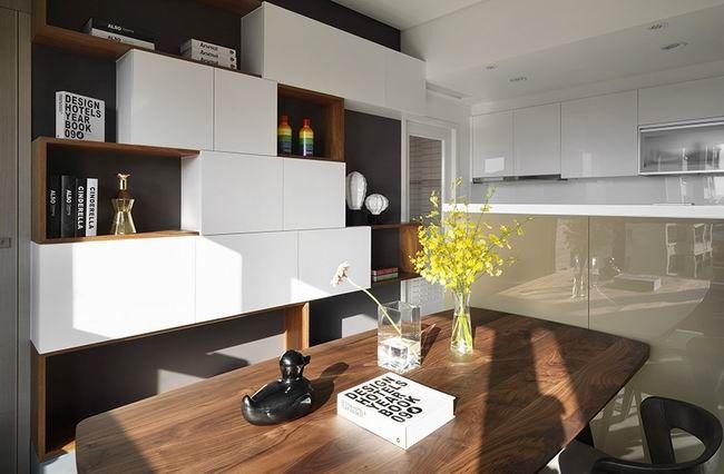 50平米也可以营造视觉上的大空间 - 居宅 - 室内设计师网 I - Storage